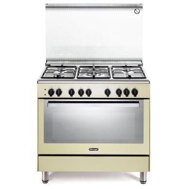 Cucina freestanding accensione elettronica con manopole DE LONGHI PEMC 96