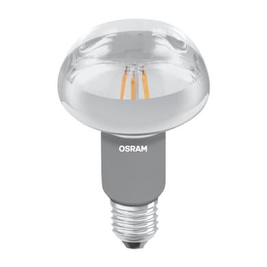 Lampadina LED, E27, Faretto, Opaco, Luce calda, 9.1W=580LM (equiv 100 W), 36° , OSRAM
