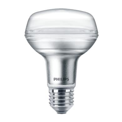 Lampadina LED, E27, Faretto, Opaco, Luce calda, 8W=1100LM (equiv 100 W), 36° , PHILIPS