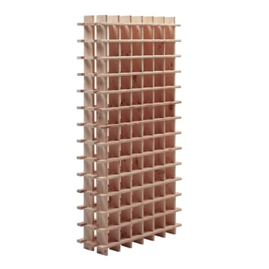 Portabottiglie 78 posti L 75 x H 150 x Sp 22 cm