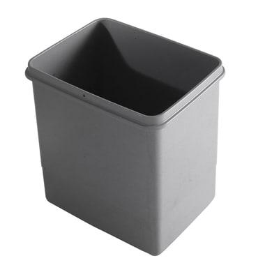 Pattumiera per raccolta differenziata LT 15 manuale grigio 15 L