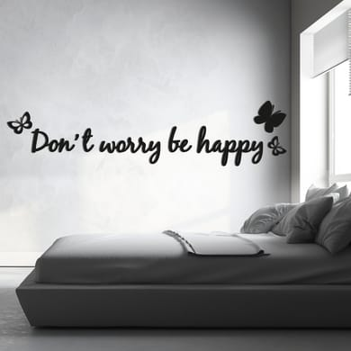 Sticker Don't worry 47.5x70.5 cm