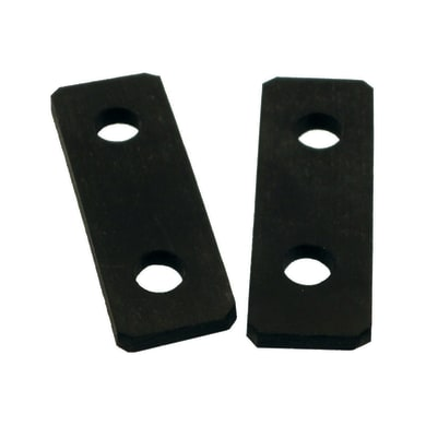 Adattatore plastica L 12.99 cm nero