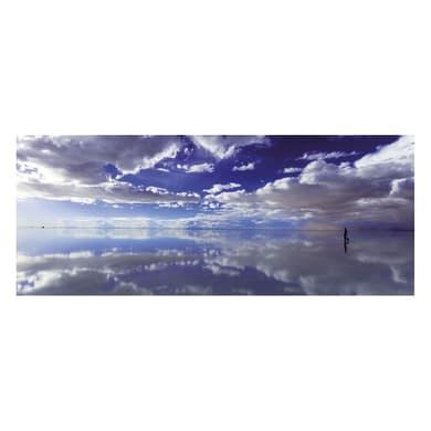 Quadro in vetro Cloud Reflection 125x50 cm