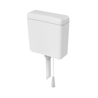 Vaschetta alta wc SIAMP Prima pulsante meccanico