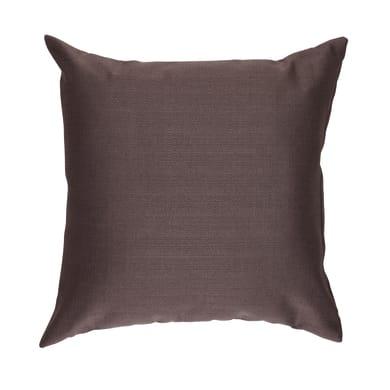 Cuscino grande INSPIRE Ilizia marrone 60x60 cm
