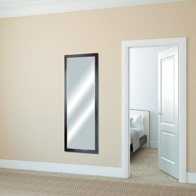 Specchio a parete rettangolare Old Rustic noce scuro 60x160 cm