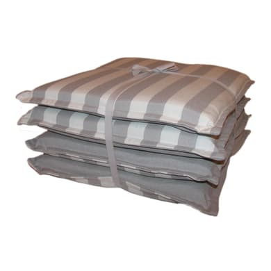 Cuscino per sedia Tinto filo kent grigio 40x40 cm