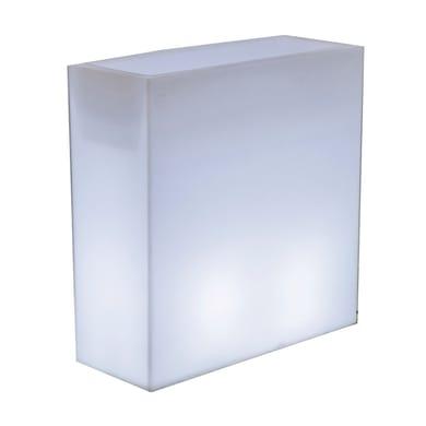 Vaso decorativo Junco H 80 cm, luce rgb , LED integrato 45LM IP65 NEWGARDEN