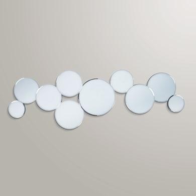 Specchio A parete tondo Cerchi 40x120 cm