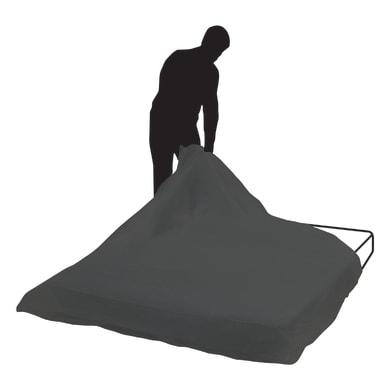Telo protettivo in pvc L 160 cm Sp 2.2 mm nero