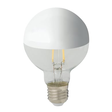 Lampadina LED filamento, E27, Globo, Trasparente, Luce naturale, 7W=680LM (equiv 80 W), 360°