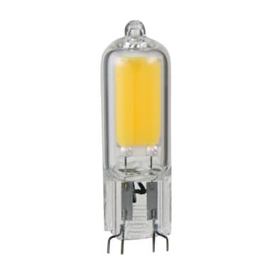Lampadina LED, G9, Capsula, Trasparente, Luce calda, 2W=200LM (equiv 20 W), 360° , LEXMAN