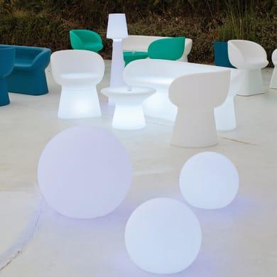 Lampada da esterno Buly H35cm, in plastica, luce bianco, E27 IP65 NEWGARDEN