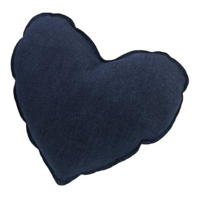Cuscino INSPIRE Cuore blu 34x48 cm