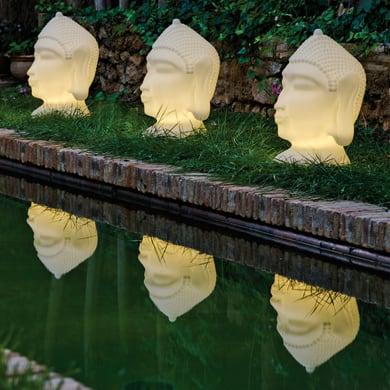 Lampada da esterno Goa H70cm, in plastica, luce bianco, E27 IP65 NEWGARDEN