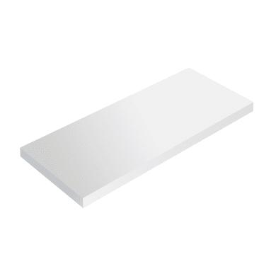 Mensola Spaceo L 96 x P 23.7 cm, Sp 2.2 cm bianco