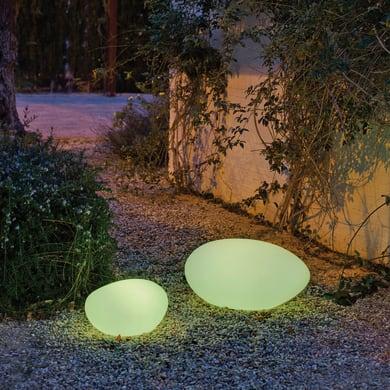 Lampadina solare Petra , in plastica, luce colori cangianti, 45LM IP65 NEWGARDEN