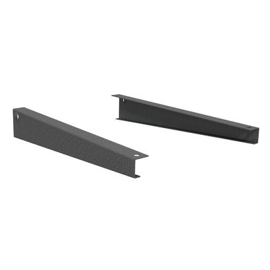 Set di 2 pezzi, Reggimensola Spaceo L 30.5 x H 6 x P 3 cm grigio