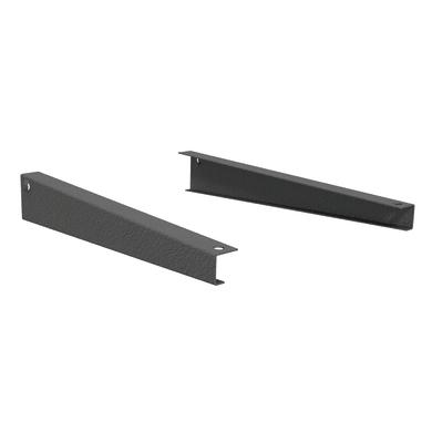 Set di 2 pezzi, Reggimensola Spaceo L 40.5 x H 3 x P 7.5 cm grigio