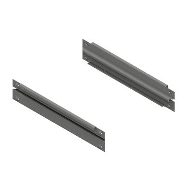 Traverso in metallo M50 L 60 x H 8 x P 1.5 cm grigio / argento