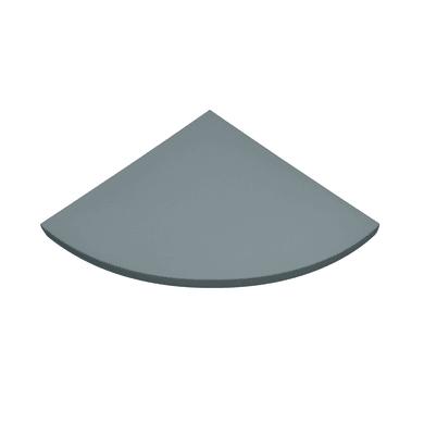 Mensola Spaceo L 25 x P 25 cm, Sp 1.8 cm grigio