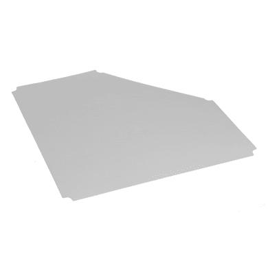 Ripiano L 68 x H 1 x P 68 cm grigio chiaro
