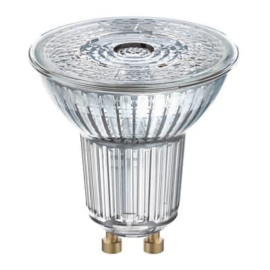 Lampadina LED, GU10, Faretto, Trasparente, Luce calda, 4W=230LM (equiv 35 W), 36° , OSRAM