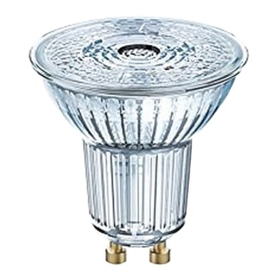 Lampadina LED, GU10, Faretto, Trasparente, Luce naturale, 3W=230LM (equiv 35 W), 36° , OSRAM
