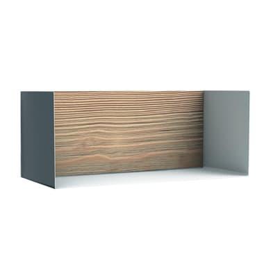 Mensola Box L 17 x P 18 cm, Sp 1.7 cm bianco