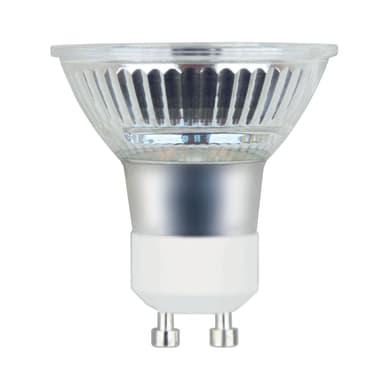 Lampadina LED GU10, Faretto, Trasparente, Bianco, Luce calda, 5.3W=460LM (equiv 50 W), 100° , LEXMAN