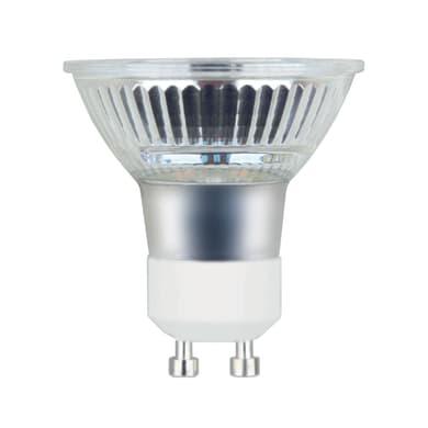 Lampadina LED, GU10, Faretto, Trasparente, Luce naturale, 5.3W=460LM (equiv 50 W), 100° , LEXMAN