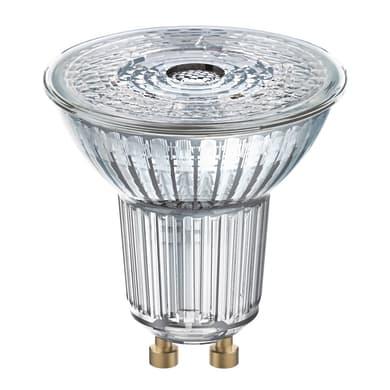 Lampadina LED, GU10, Faretto, Trasparente, Luce calda, 4W=350LM (equiv 50 W), 36° , OSRAM