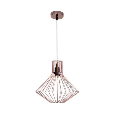 Lampadario Design Dalma rame in metallo, D. 30 cm, BRILLIANT