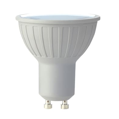 Lampadina LED GU10 riflettore neutro 6W = 460LM (equiv 50W) 50° LEXMAN