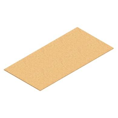 Ripiano in legno M50 L 100 x H 1 x P 50 cm marrone