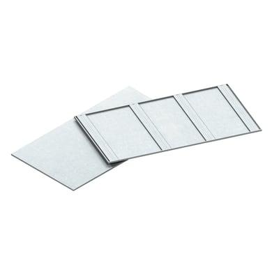 Ripiano in metallo M70 L 115 x H 3 x P 61 cm bianco