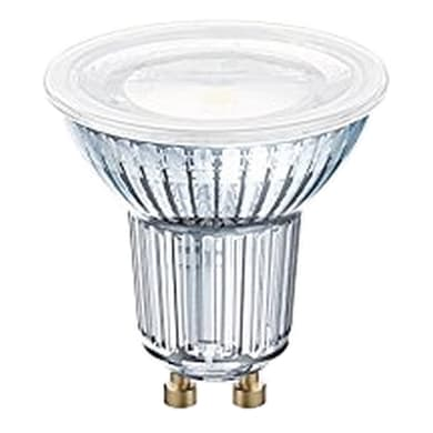Lampadina LED, GU10, Faretto, Trasparente, Luce naturale, 8W=575LM (equiv 80 W), 120° , OSRAM