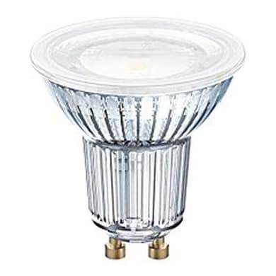Lampadina LED, GU10, Faretto, Trasparente, Luce calda, 6.9W=575LM (equiv 80 W), 120° , OSRAM