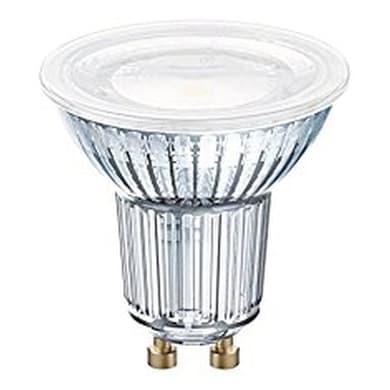 Lampadina LED, GU10, Faretto, Trasparente, Luce naturale, 6.9W=575LM (equiv 80 W), 120° , OSRAM