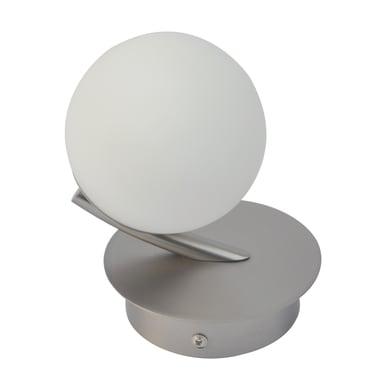 Applique moderno CCT Avanis LED integrato grigio, in metallo,  D. 9.5 cm 9 cm, INSPIRE