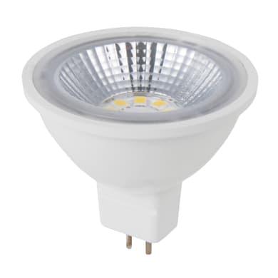 Lampadina LED, GU5.3, Faretto, Trasparente, Luce naturale, 5W=450LM (equiv 35 W), 100° , LEXMAN