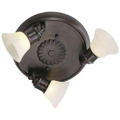 Plafoniera Alamo marrone, in acciaio, G9 3x33W IP20 EGLO