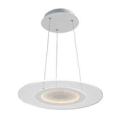 Lampadario Eternity trasparente, in acrilico, diam. 45 cm, LED integrato 34W 2720LM IP20