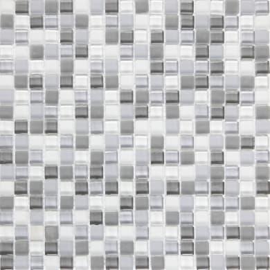Mosaico Tonic H 30 x L 30 cm grigio argento