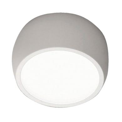Faretto singolo Vasto bianco, in metallo, LED integrato 7W 630LM IP20