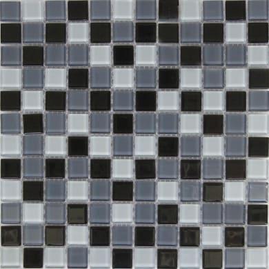 Mosaico Shaker H 30 x L 30 cm blu, antracite