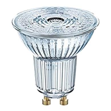 Lampadina LED, GU10, Faretto, Trasparente, Luce naturale, 5W=350LM (equiv 50 W), 36° , OSRAM