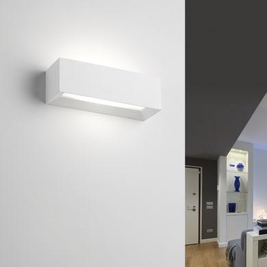 Applique Hermione bianco, in gesso, 7x22 cm, G9 2xMAX40W IP20 TECNICO
