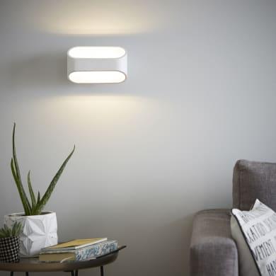 Applique design LED integrato Koper LED integrato bianco, in metallo, 16 cm, INSPIRE